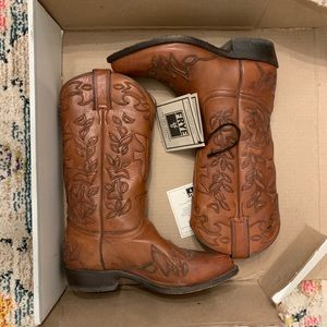 FRYE Cowboy Boots Gently Used